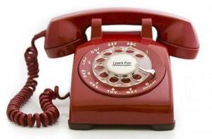 טלפון אדום